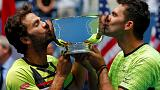 Political statement follows doubles win by Rojer and Tecau