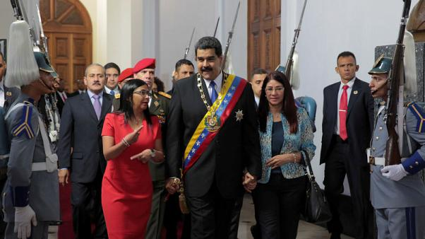 Venezuela's Maduro seeks debt negotiations after U.S. sanctions