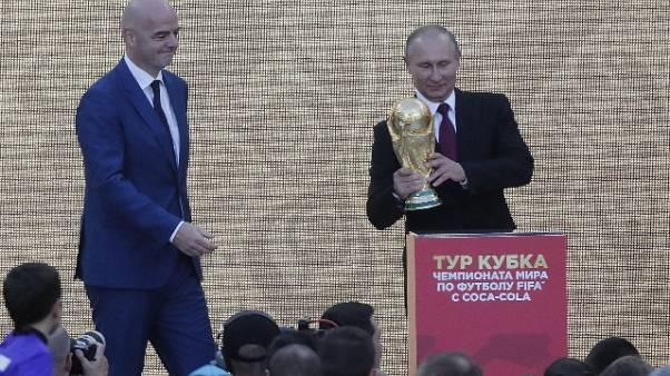 Mondiali:Putin a Infantino,tutto procede