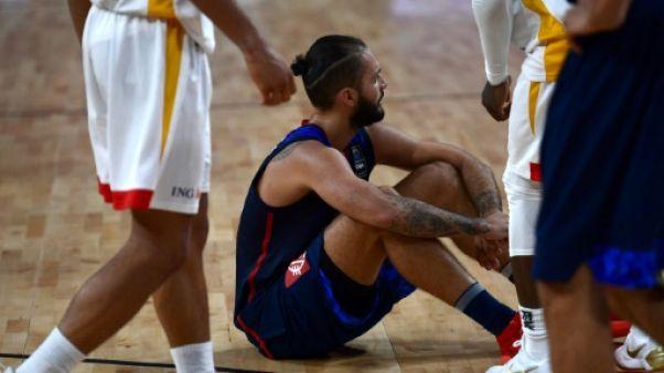 Basket: l'après-Parker commence par un flop à l'Euro après France-Allemagne