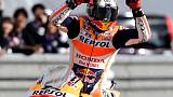 Motorcycling - Vinales on pole for San Marino GP as Marquez crashes