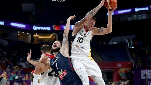 Europei basket, Germania-Francia 84-81