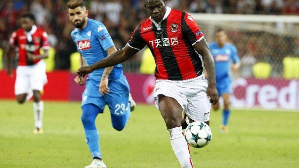 Balotelli trascina Nizza, 4-0 al Monaco