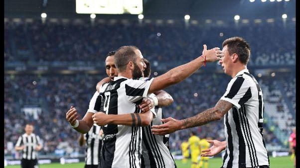 Serie A: Juventus-Chievo 3-0