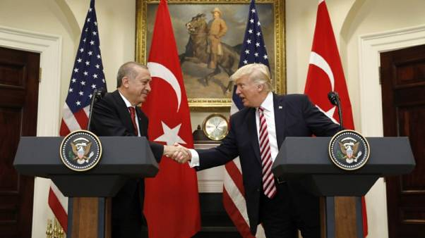 Amid tension, Trump and Turkey's Erdogan agree to strengthen ties