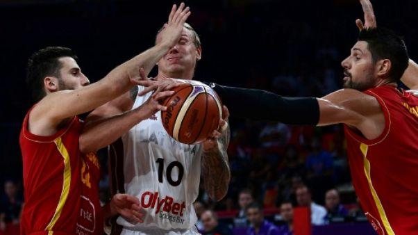 Euro de basket: la Lettonie revient en quarts