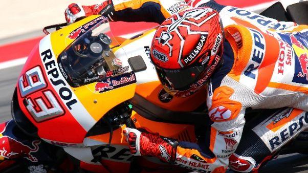 MotoGp: a Misano vince Marquez, 3/o Dovi