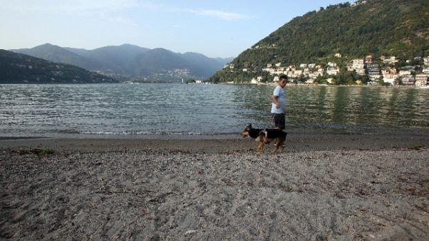 Subacqueo muore nel Lago di Como