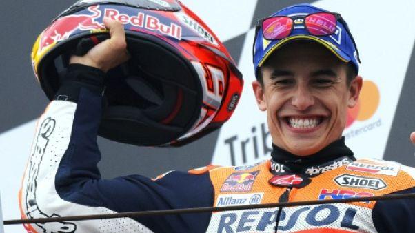 Moto: Marc Marquez douche l'Italie au GP de Saint-Marin