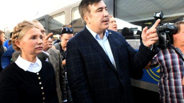L'Ukraine refuse l'entrée à l'ex-président géorgien Saakachvili