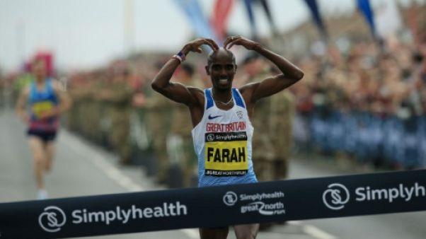 Athlétisme: Mo Farah annonce sa participation au marathon de Londres 2018
