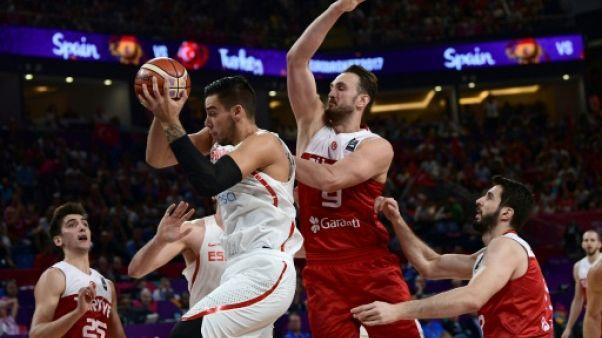 Basket: l'Espagne éteint les espoirs turcs en 8e de l'Euro