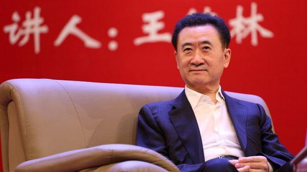 Dalian Wanda says chairman Wang visited Hong Kong last week