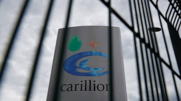 Finance chief of Carillion steps down