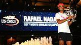 """US Open: """"L'une de mes meilleures saisons"""", estime Nadal"""