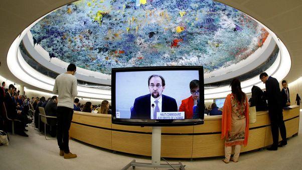 "U.N. rights boss sees possible ""crimes against humanity"" in Venezuela"