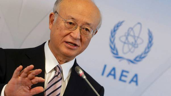 U.N. nuclear watchdog chief says Iran playing by the rules