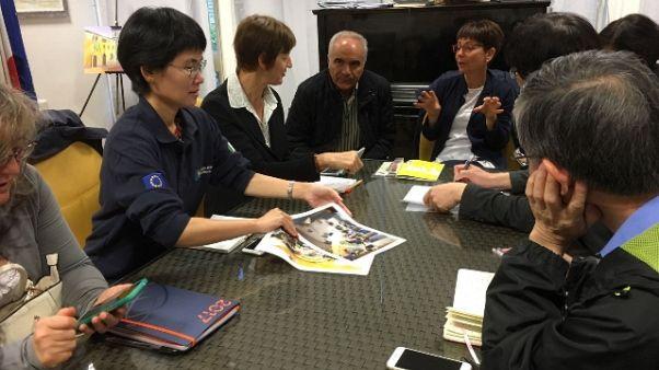Da Giappone a Cascia, studio post sisma