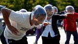 Circle of life - Japan's homeless banish despair through dance