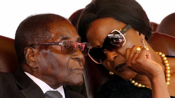 Exclusive - Zimbabwe's Grace Mugabe says model attacked her with knife