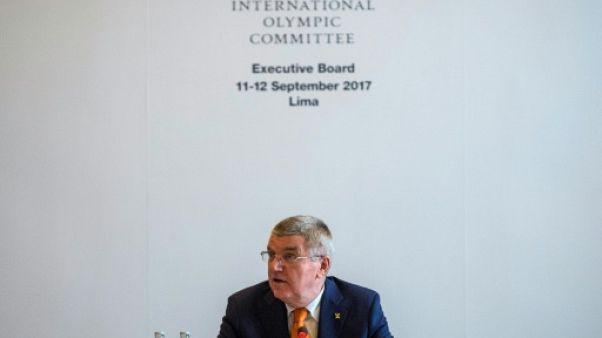 """JO-2024 et 2028: Bach espère une semaine """"réussie"""" pour le CIO"""