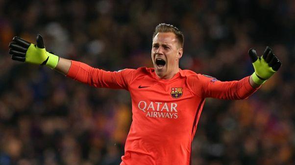 Barca keeper Ter Stegen wary of Juve's Dybala