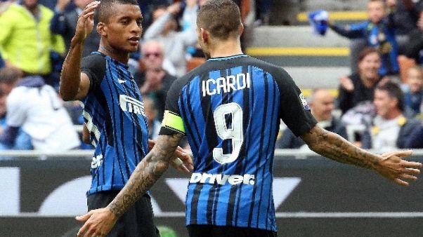 Icardi, orgoglio nei 10 top bomber Inter