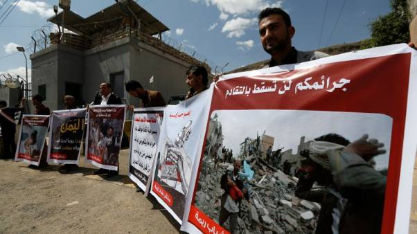 Human Rights Watch says Saudi-led air strikes in Yemen are war crimes