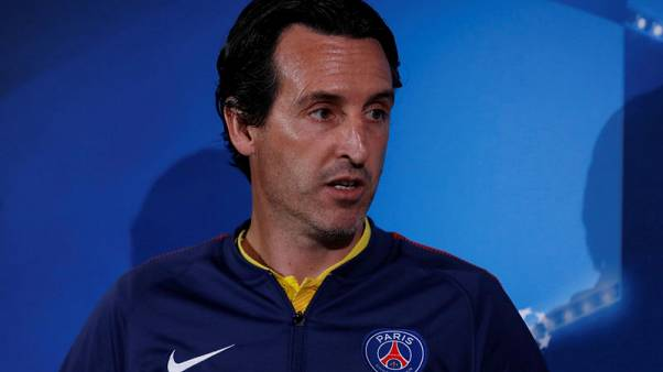 Champions League 'a big objective' for PSG, says Emery