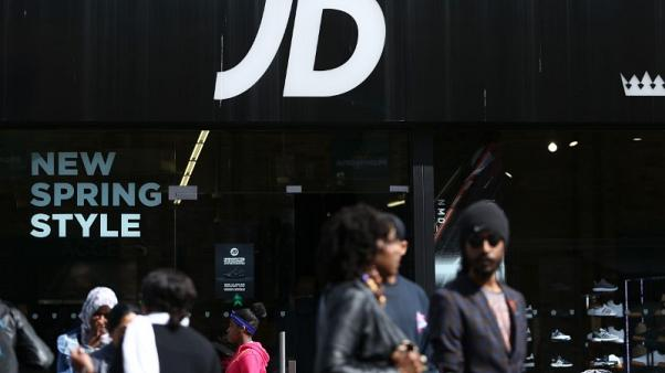 JD Sports reports record first-half profit helped by expansion
