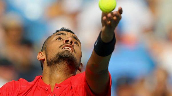Davis Cup team spirit fires Kyrgios up again