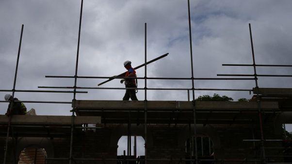 British housebuilders sink as investors call top