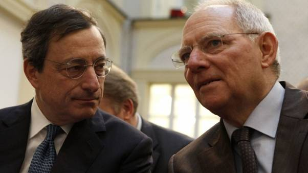 "Schaeuble trusts Draghi, ""basically confident"" in ECB policy"