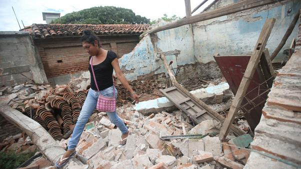 In Mexican town, women and 'muxes' take charge after massive quake