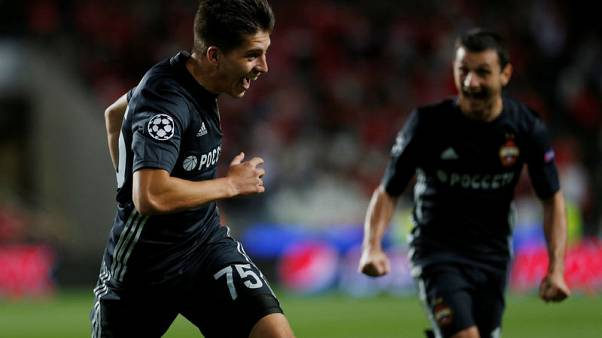 Benfica stunned at home by CSKA Moscow