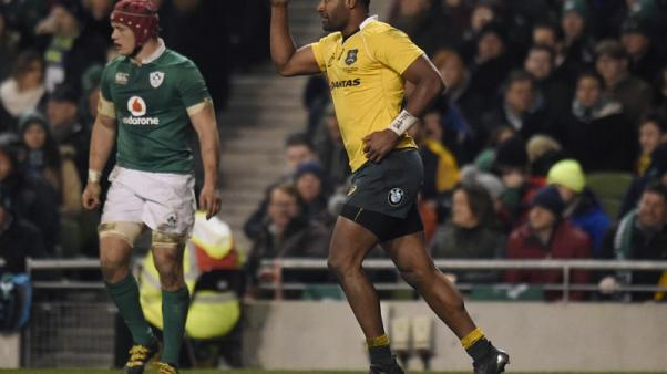 Rugby - Centre Kuridrani re-signs with Wallabies