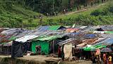 Trapped by landmines and a creek, Rohingya languish in no-man's land