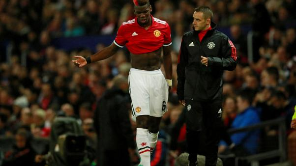 Pogba faces spell on the sidelines with hamstring injury