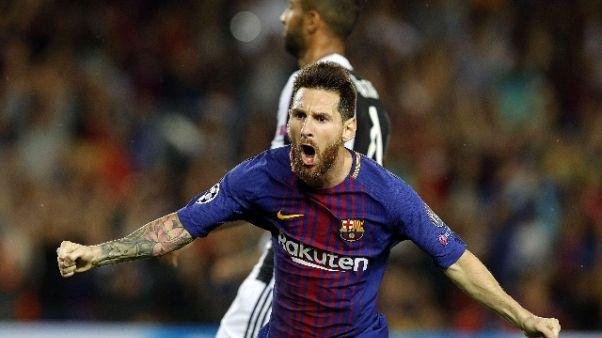 Spagna esalta Messi: vendetta su Juve