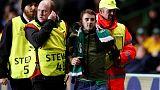 UEFA charge Celtic over fan invading pitch against PSG