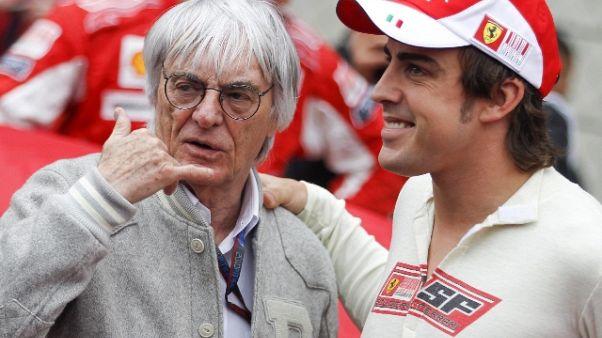Ecclestone, Alonso resterà alla McLaren