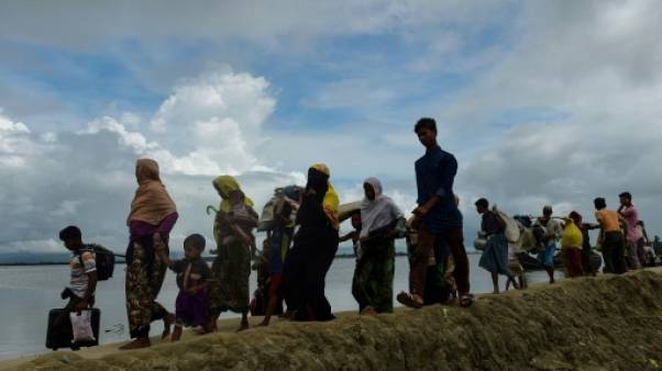 Dans l'exode des Rohingyas, des enfants seuls et vulnérables