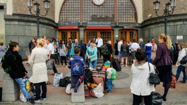 Russie : alertes à la bombe en série, des milliers de personnes évacuées