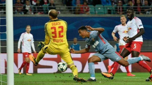 Ligue des champions: Monaco ramène un point mérité de Leipzig