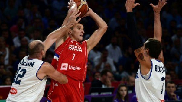 Basket: Serbie-Russie, le retour d'un vieux classique en demi-finale de l'Euro