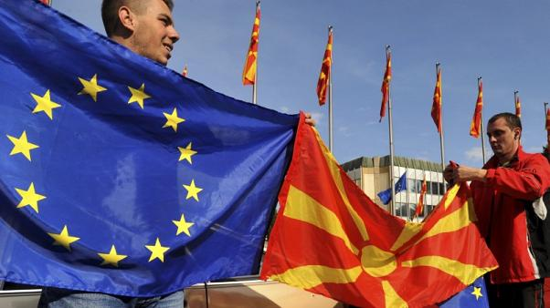 Macedonia wants EU membership process, Greek talks to run in tandem