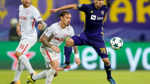 Maribor grab late leveller to hold Spartak to 1-1 draw