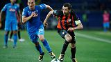 Shakhtar Donetsk upset Napoli 2-1 in Champions League group game