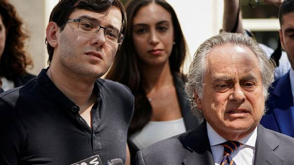 Shkreli ordered jailed after online bounty on Hillary Clinton's hair
