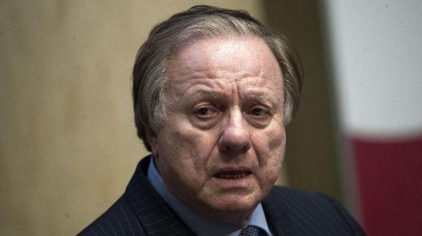 Mose: Matteoli, 'mai ricevuto un euro'